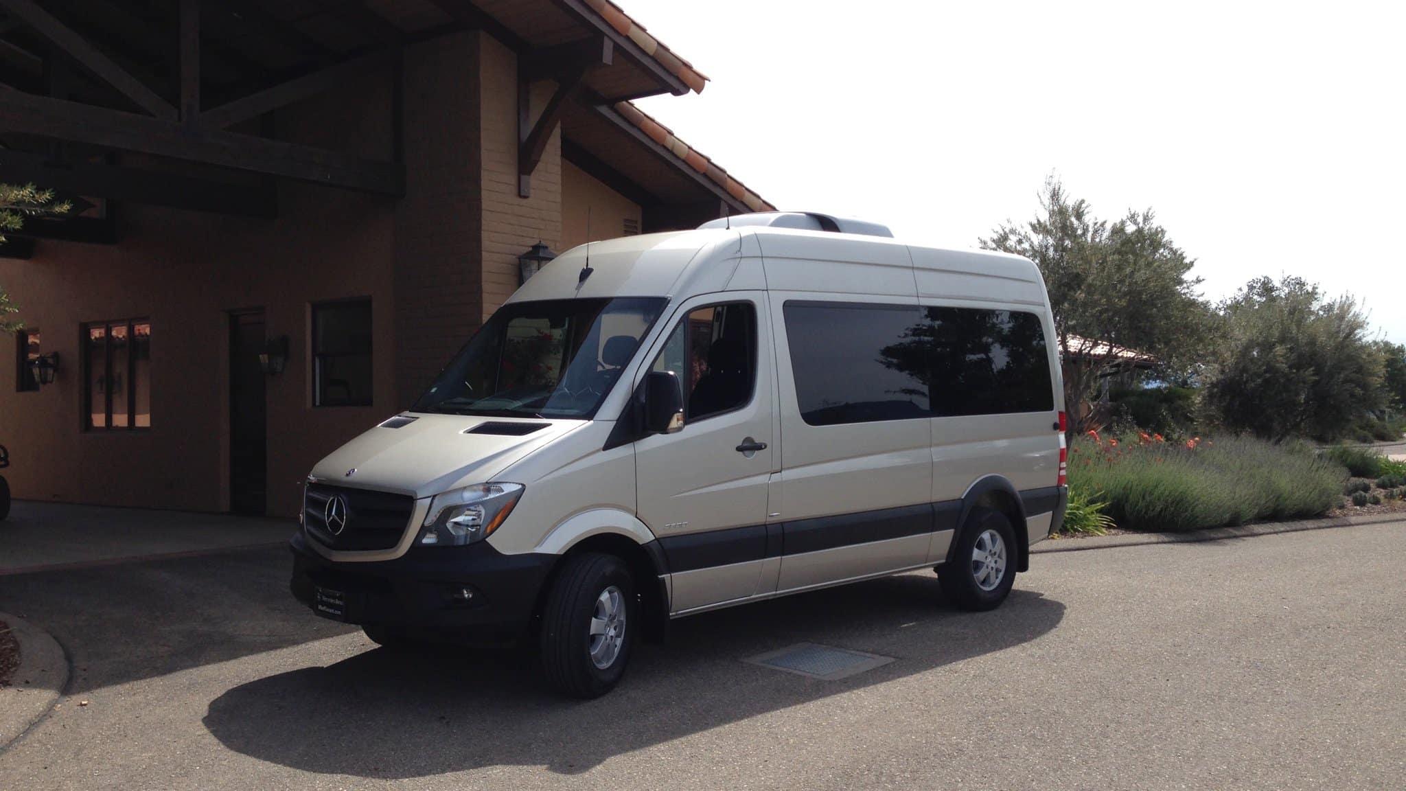11 passenger Mercedes Sprinter Van